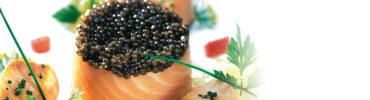 La timbale de saumon sauvage au caviar osciètre